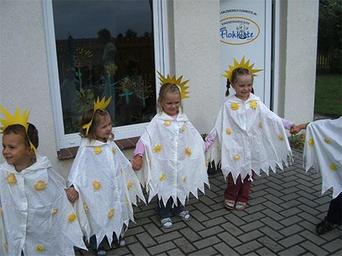 Sonnenblumenfest 2010 in der Kita