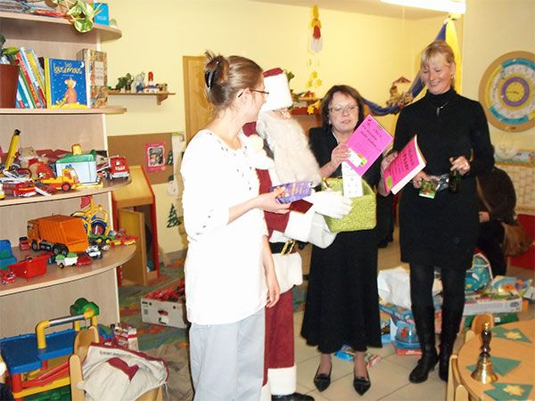 Weihnachtsfeier 2010 in der Flohkiste