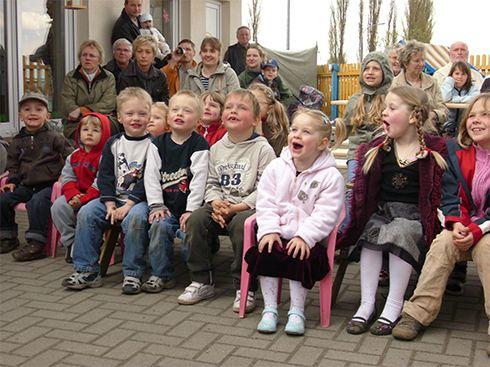 Feste feiern in der Kindertagesstätte Salzwedels Flohkiste