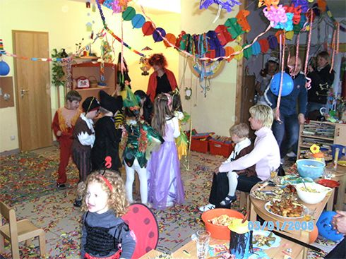 Feste feiern in der Kindertagesstätte in Salzwedel