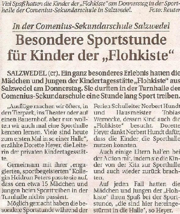 Sport für die Kinder