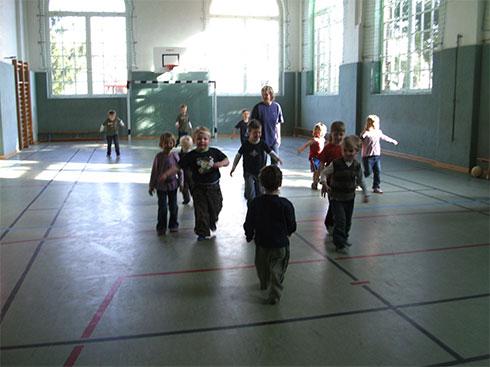 Sport für die Kinder der Flohkiste