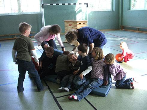 Sport im Kindergarten